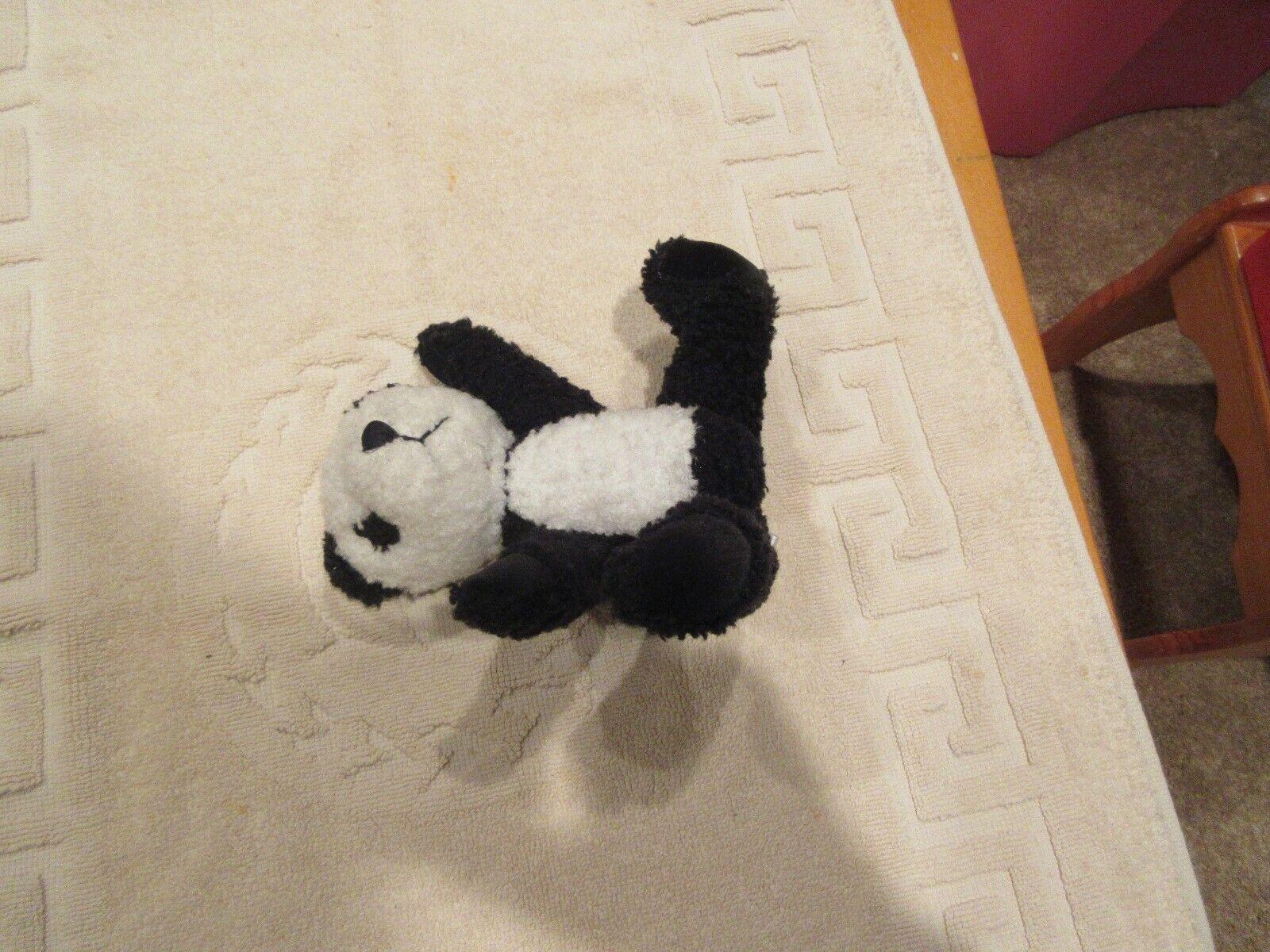 """Hug Fun Int. ,Black / White Bear , 2000 , 6""""X3""""X6"""""""