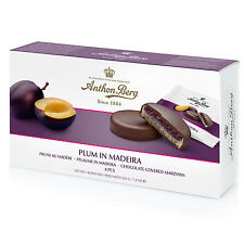 Anthon Berg Plum in Madeira in Marzipan Danish Chocolates 220g 9.7 oz