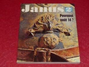 BIBLIOTHEQUE-H-amp-P-J-OSWALD-JANUS-N-2-1964-POURQUOI-AOUT-14-Guerre-14-18