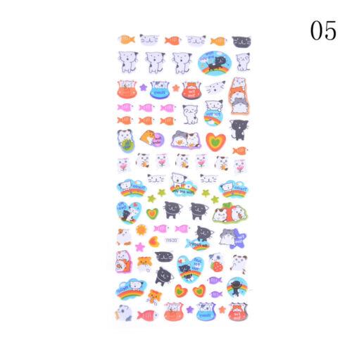 Cute Diary Decor Kids Stickers 3D PVC Korea Stationery Kindergarten Toy I2