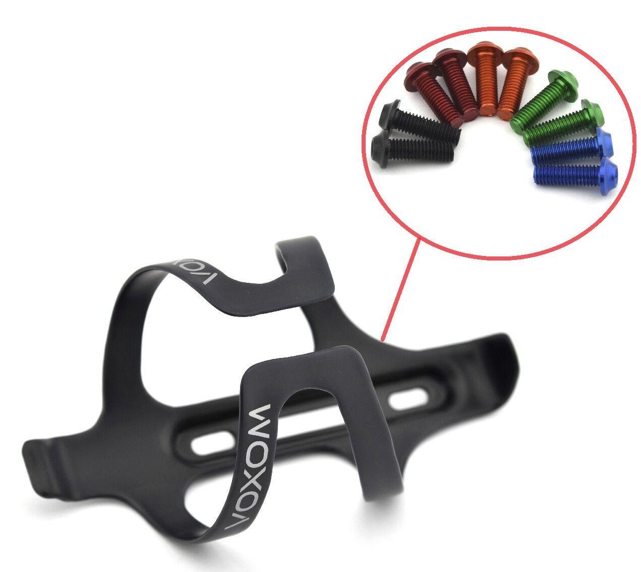 Ud Carbon Fahrrad Tuning Flaschenhalter + M5 M5 M5  Aluschrauben Bike Waterbottle cage f7ed9d