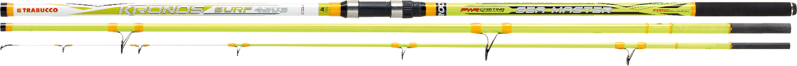 TRABUCCO KRONOS SEA MASTER MN 14ft 4.20m 200gr, Surfcasting rod  3 sec. NEW 2019
