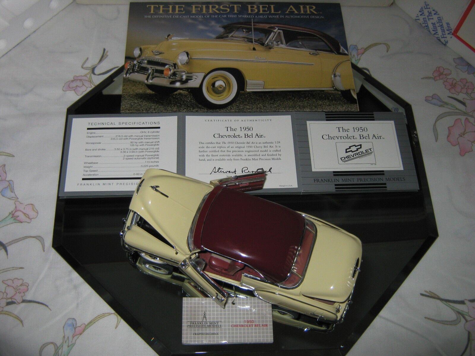 Franklin - mint - 1   24 1950 chevrolet bel air styleline deluxe