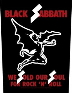 BLACK-SABBATH-We-sold-our-soul-Rueckenaufnaeher-Backpatch