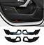 Carbon Fiber leather Inner Door Anti Kick Pad Trim For Benz A Class W177 2019