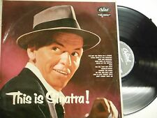 33 RPM Vinyl Frank Sinatra This is Sinatra! Capitol LCT 6123 102814KME
