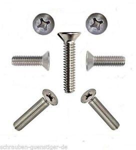 25-piezas-cabeza-avellanada-phillips-4mm-DIN-965-M-4-x-70mm-ACERO-INOX-A2