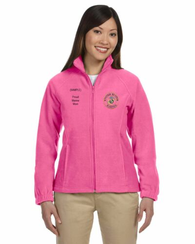 Corps Fleece Full Nwt Custom Personlig Women's zip Us Broderet Marine gxq85SUn