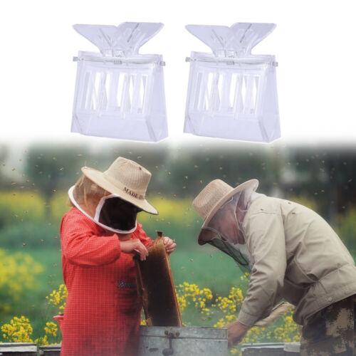 10Pcs Plastic Queen Cage Clip Bee Catcher Beekeeper Beekeeping Tool Equipment