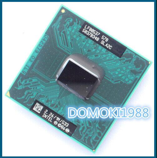 Intel Celeron CM 570 CM570 SLA2C SocketP 2.26Ghz 1MB 533Mhz LF80537NE0511M