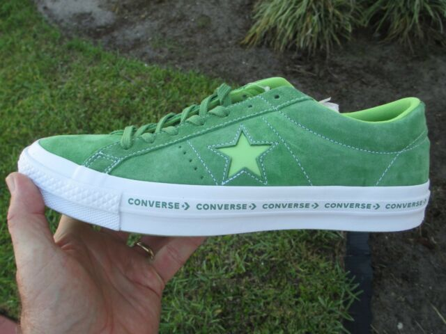 9133f3a71c6a Converse ONE STAR OX MINT GREEN   JADE   LIME 159816C SIZE 11 MEN S NEW