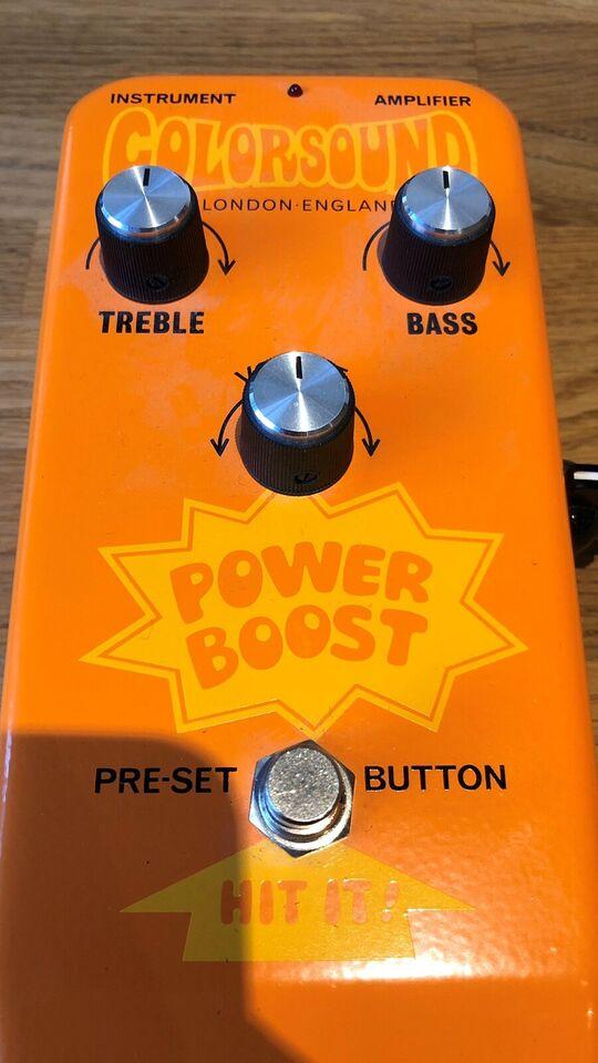 Colorsound Power Boost 18v pedal