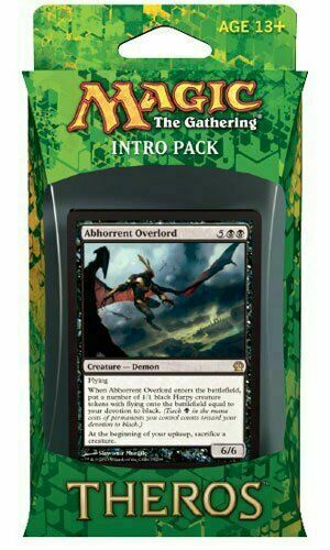 A Ready to Play 60 Card Deck MTG 2013 Magic the Gathering Theros Intro Pack x1