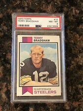 1973 Topps Terry Bradshaw Pittsburgh Steelers #15 Football Card