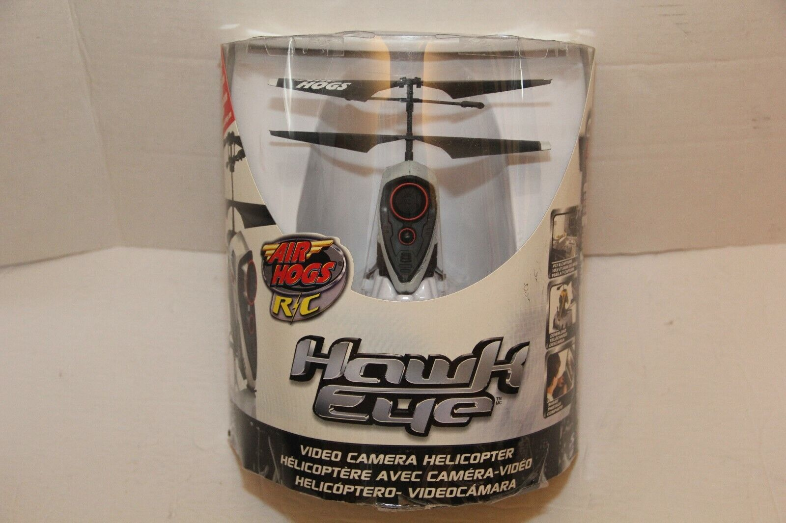 Air Hogs Hawk Eye Video Camera Helicopter New