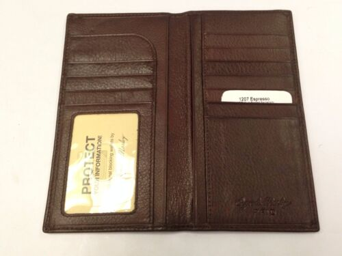 Osgoode Marley RFID Secretary Mens Coat Pocket Leather Wallet 1207