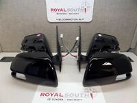 Toyota Tacoma 12-15 Black 202 Outer Mirror With Turn Signal Set Genuine Oe
