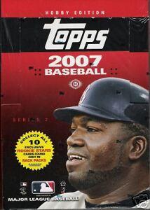 NIP 2007 Topps Series 2 MLB Baseball Rack Pack Cards