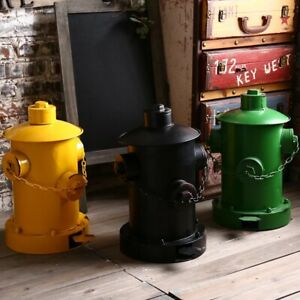 Details zu ANTIQUE AMERICAN STYLE RETRO PEDAL BIN KITCHEN SITTING LIVING  RUBBISH WASTE BIN