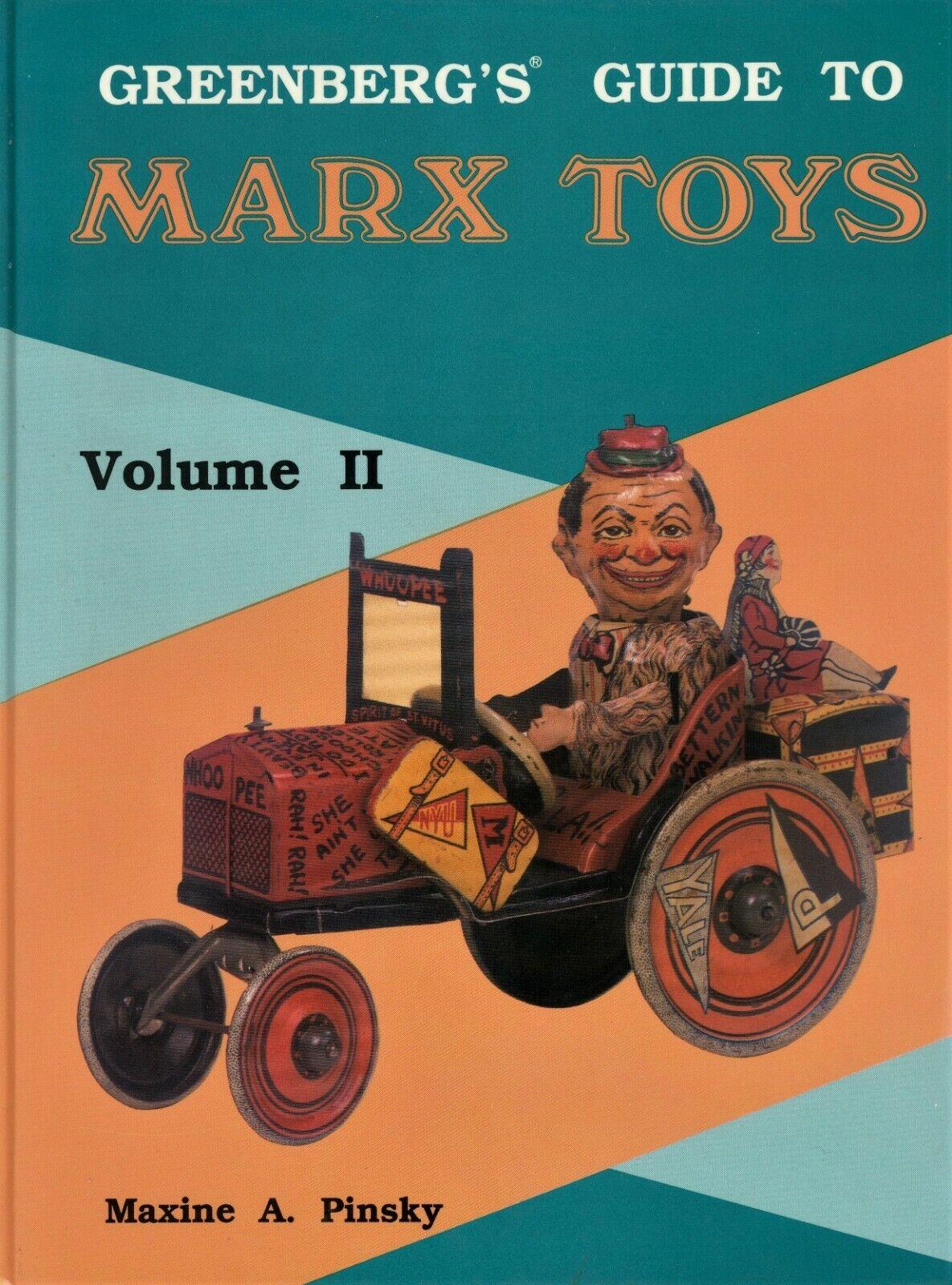 Vintage Marx Tin Toys 1923-1950    Models Dates Values   Svoiturece In-Depth Book  plus d'escompte