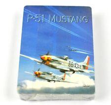 P-51 Mustang Flugzeug Spielkarten Karten USA Kartenspiel Playing Cards