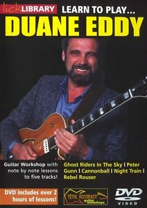 lick library learn to play duane eddy twang guitar lesson dvd with s trovato ebay. Black Bedroom Furniture Sets. Home Design Ideas