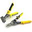 "3"" Inch Straight Metal Hand Seamer and Aviation Snips Metal Sheet Tools Set"