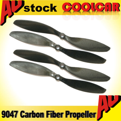 Hot 2 Pairs 9047 Carbon Fiber Propeller 9x4.7 for all DJI Phantom 1 2 Vision OZ
