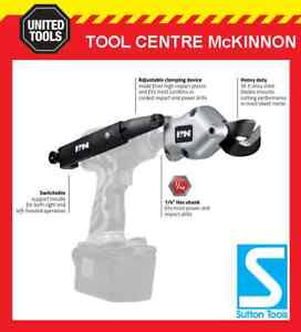 P-amp-N-BY-SUTTON-TOOLS-1-4-HEX-SHEET-METAL-SHEAR-ATTACHMENT-FOR-DRILL-OR-IMPACT