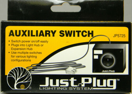 NIB Woodland Scenics JP5725 Just Plug Lighting System Auxiliary Switch