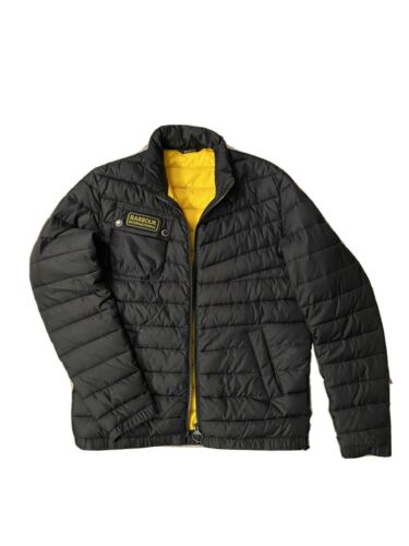 Barbour International Chain Baffle Quilted Medium… - image 1