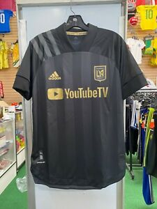 Adidas LAFC Authentic Home Men's Soccer Jersey- 2020 | eBay