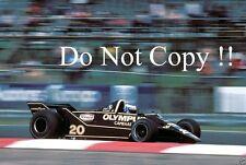 Keke Rosberg Wolf WR7 British Grand Prix 1979 Photograph