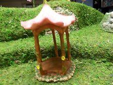 MG140 Marshall Home & Garden Miniature Fairy flower top gazebo