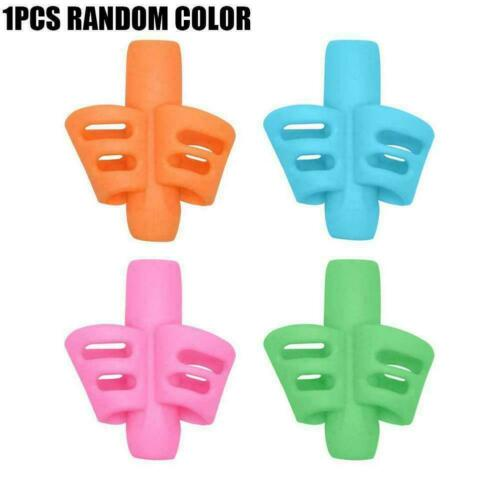 Children Pencil Holder Pen Writing Aid Grip Posture Tools Correction New R8T5