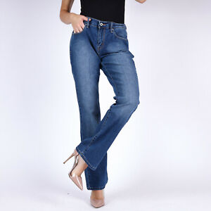 Levi-039-s-515-Bootcut-blau-Damen-Jeans-DE-38-US-W30-L32