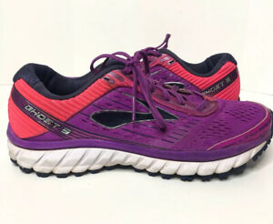 Women-039-s-Brooks-Ghost-9-Purple-Athletic-Running-Shoes-Sz-9-5-USED