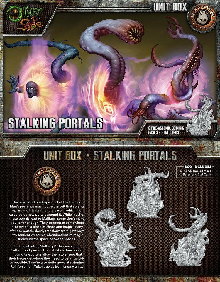 contador genuino Malifaux The The The Other Side Stalking Portals box plastic Wyrd  Mejor precio