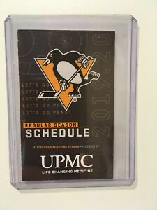 Penguins Schedule 2020.Details About Nhl 2019 2020 Pittsburgh Penguins Hockey Pocket Schedule New
