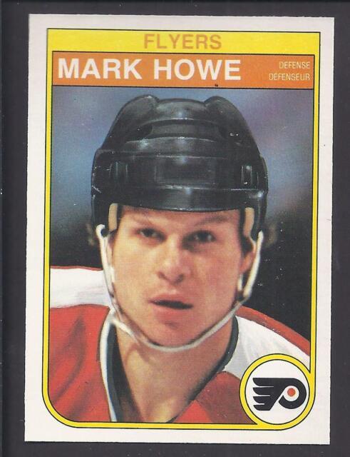 1982-83 OPC O Pee Chee #252 Mark Howe Flyers Nice Shape