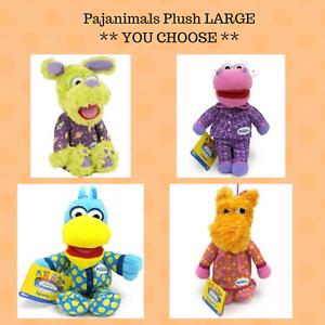 Jim-Henson-039-s-Pajanimals-Plush-LARGE-Stuffed-Animal-Apollo-Squacky-SweatPea-Cow