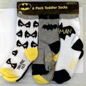 DC Comics Baby Boys Justice League 6 Pack Socks