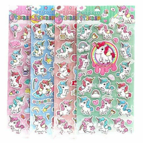 Unicorn Scrapbooking Stickers for Phone Diary Album Decor Kids Toy^#@