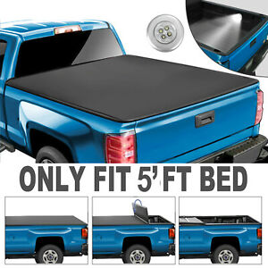 Tri-FOLD-Tonneau-Cover-For-2016-2017-2018-2019-2020-Toyota-Tacoma-5FT-Bed-Truck
