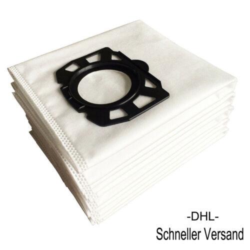 6-24 Vliesfilterbeutel Staubsaugerbeutel für Kärcher MV4 MV5 Premium 2.863-006.0