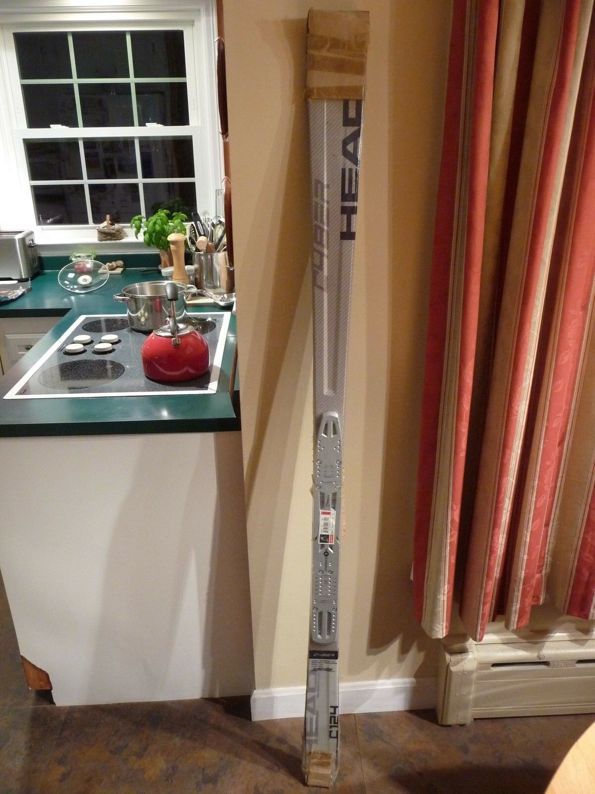 Head Cyber C  124, 170cm All Mountain Skis With GS 9 Tyrolia Carve Plates - NEW  reasonable price