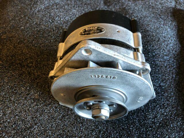 Mercedes Ponton Alternator Bosch 0120400532 Restored OEM Generator Early Style