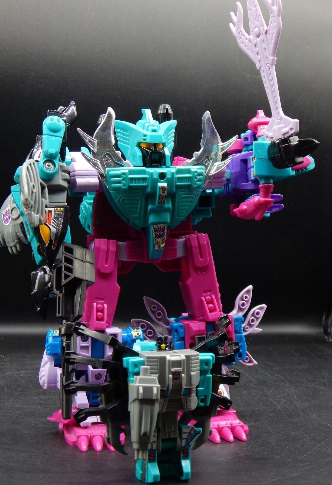 G1 vintage PIRANACON Seacons complete SET Hasbro Transformers combiner gestalt