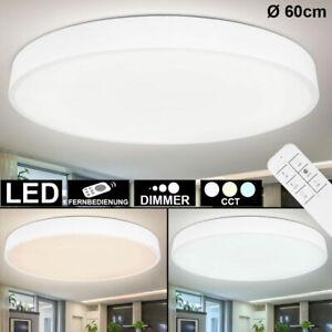 LED Decken Lampe Tages Licht DIMMBAR Küchen Leuchte FERNBEDIENUNG Flur Strahler
