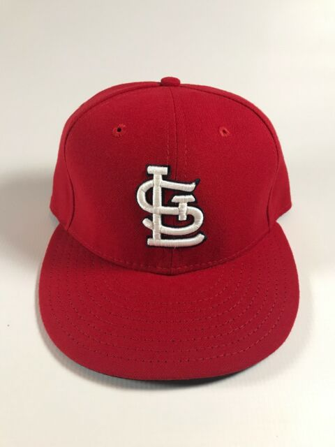 new concept 1eca2 18945 St. Louis Cardinals Home Red New Era Hat Size 7 1 8 New
